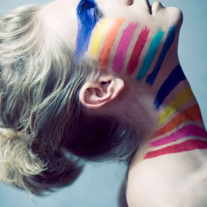 OMG!同性婚姻在美国合法了,彩虹眼线学起来好吗?!
