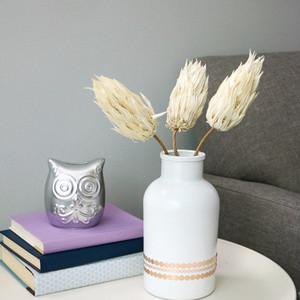 6步 30分钟 教你DIY客厅花瓶