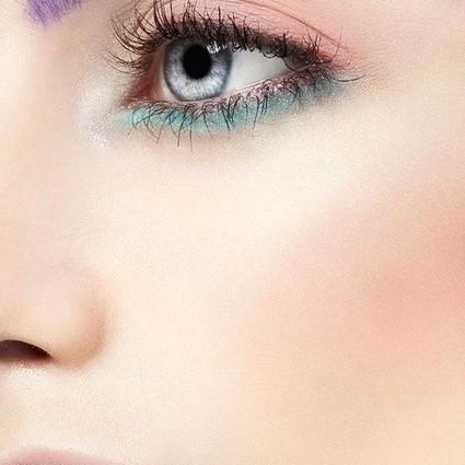 熟龄大儿童也能画的彩色眼线,超级时髦简单!