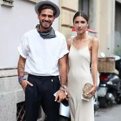 情侣装要这么穿,才能成为人人艳羡的时髦cp!