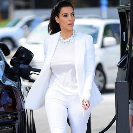 最显胖的白裤子,你穿对了才能像她们一样瘦!