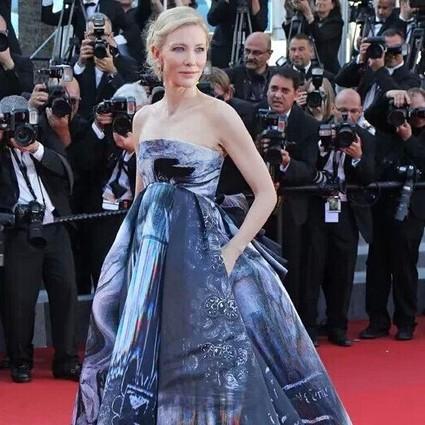 每日星范 | Cate Blanchett 女王就是把难穿的裙子穿很美!
