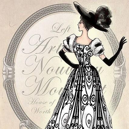 长姿势 | 史上最美6条裙全诞生于1890s