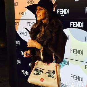 FENDI 2015秋冬大秀,没了小怪兽,来了大棉被!