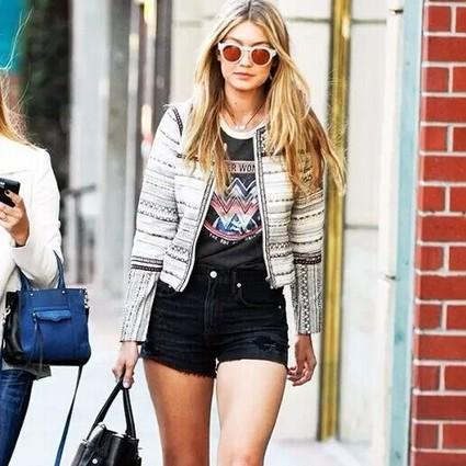 好莱坞女明星和你一样懒,一双人字拖时髦整个夏天!