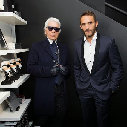 Karl Lagerfeld私人保镖的神秘24小时