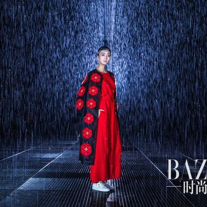 雅诗兰黛携手吉承,水光妆演绎2016春夏藏红花系列
