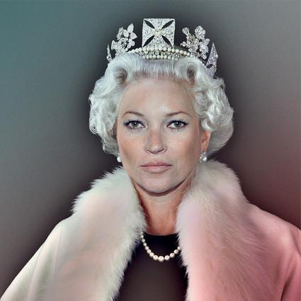 Kate Moss现身大秀,女王是永远无法取代的!
