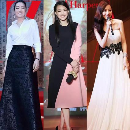 本周谁会穿 | 舒淇拼色长裙优雅美腻,巩俐白衬衫都能穿出女皇架势!