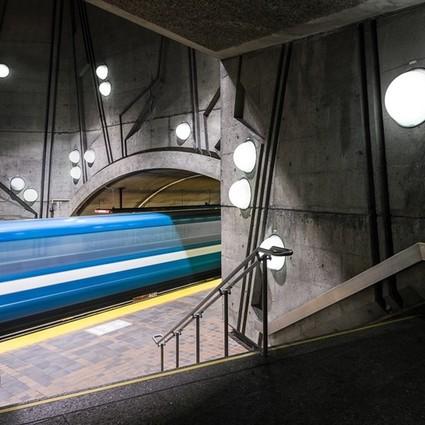 如果地铁都长这样,宁愿天天去排队