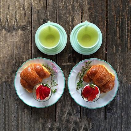 """700天早餐不重样 有一种早餐叫""""我的男朋友和我"""""""
