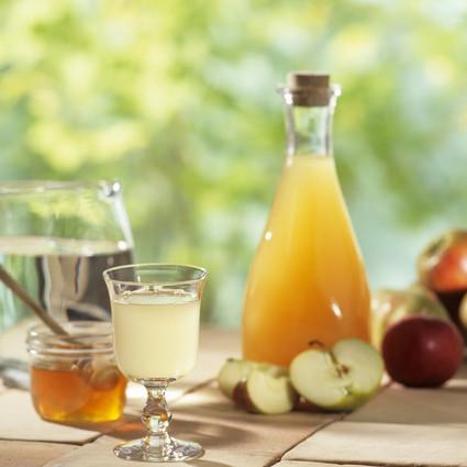 苹果醋蜂蜜水,想瘦身的你记得带它上班