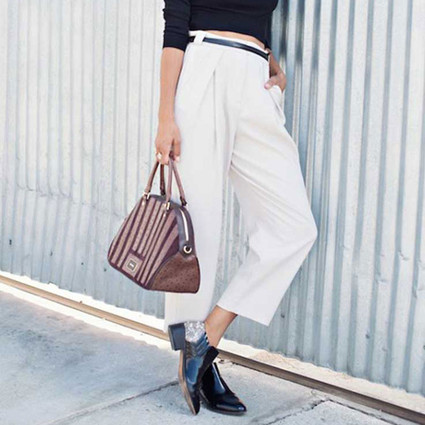 芭姐有办法|短靴该配什么裤子?原来上班穿的衬衫可以时髦又职业!