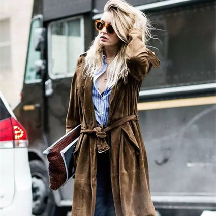 买买买 | 这件潮翻天的麂皮外套,才是你入秋后的第一选择!
