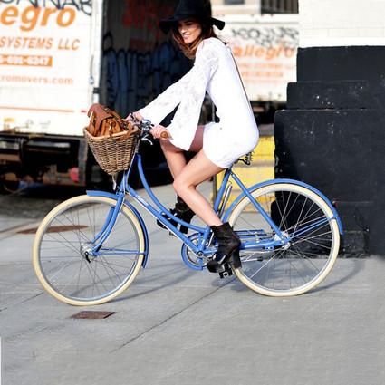 踏上单车 穿梭在电影里最美的街
