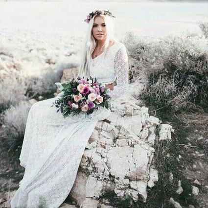 6招教你成为无拘无束的波西米亚新娘