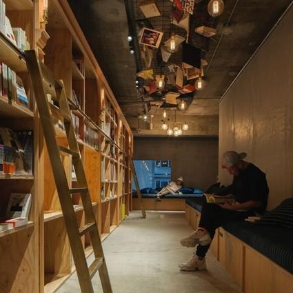 Book and Bed Tokyo ,一间可以住的书店