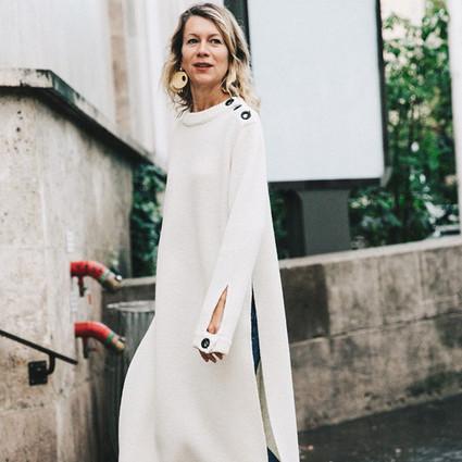 就现在,你需要一条不怕大风吹的针织裙!