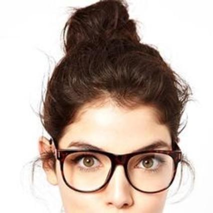 眼镜妆,改变你对老师的一贯印象,美翻天的女教师来啦!