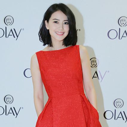 高圆圆 让男神一眼就爱上你的,就是这条小红裙!
