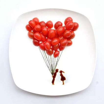 水果摆盘还能这样玩,是在下输了