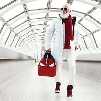 最Fashion帅气的圣诞老人来了~