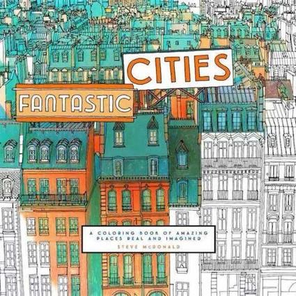 减压不只有《秘密花园》,为这些城市填色更高级!