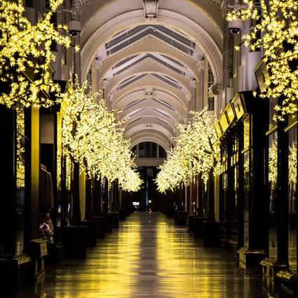 圣诞节的伦敦街道长啥样?