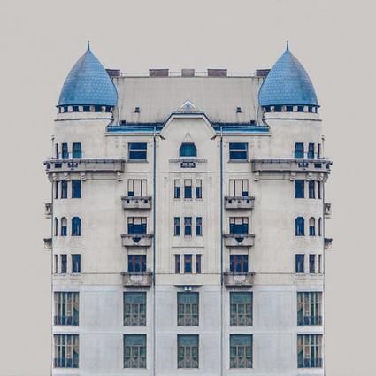 对称绝对也是一种美,多瑙河边的房子让强迫症变美好