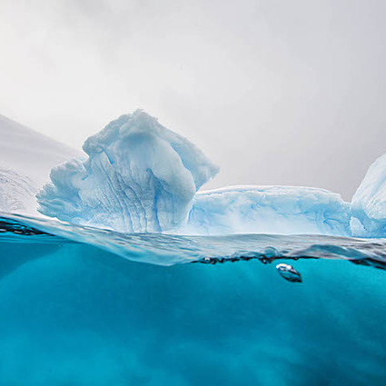 冰川底下什么样儿?Steve Mandel告诉你
