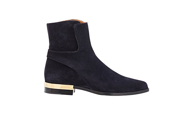 踝靴Chloé9(约人民币4,177)可购于Barneys .com
