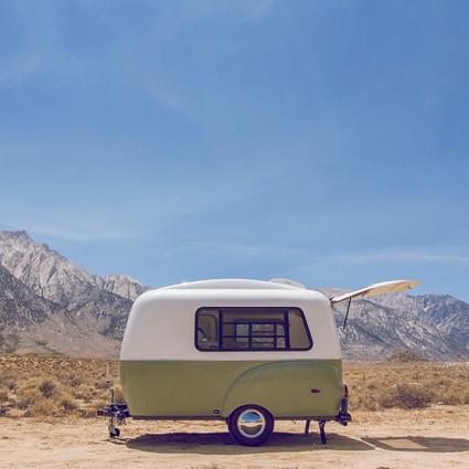 超梦幻的6款露营车,让你带着家一起上路