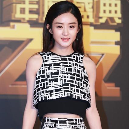 赵丽颖 一条半长裙,就是比短裙优雅,比连衣裙时髦!