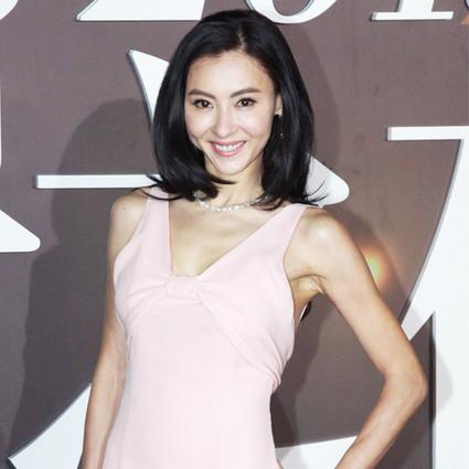 张柏芝一条粉裙就看到了少女时代的她!