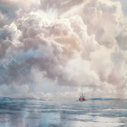Sergey Temerev,用水彩描绘出的梦幻写意