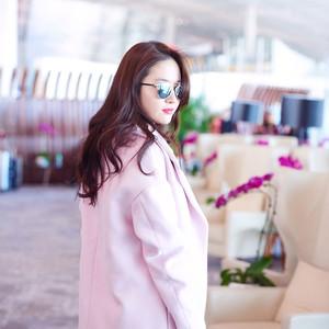 刘亦菲、高圆圆都爱的粉色外套,冬天也要做一个粉粉嫩嫩的小公举!