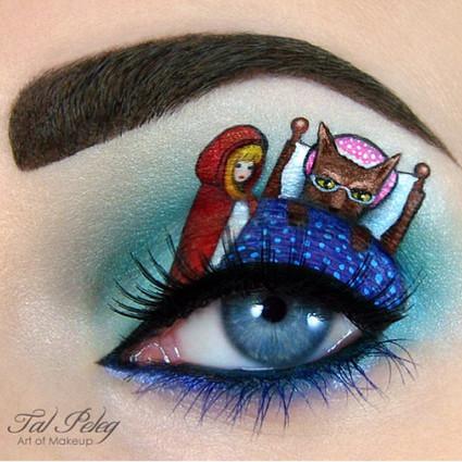 你的眼妆是眼影,她的是童话
