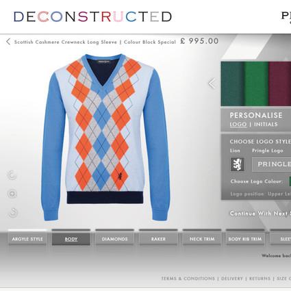 世界上独一无二的针织衫,只属于你的私人订制