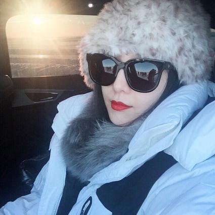 范冰冰 其实羽绒服承包了范爷整个冬天的美!