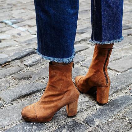 秋冬你需要一双方头短靴来吸睛!