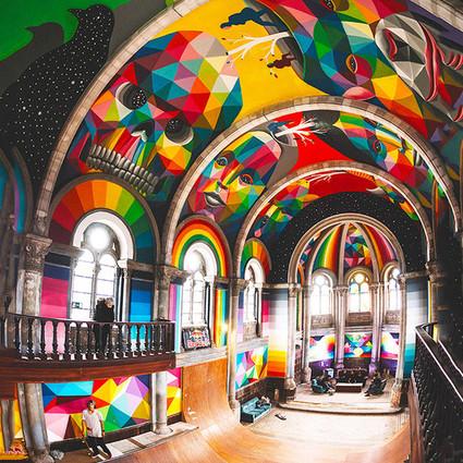 西班牙百年老教堂变身滑板公园,酷毙了!