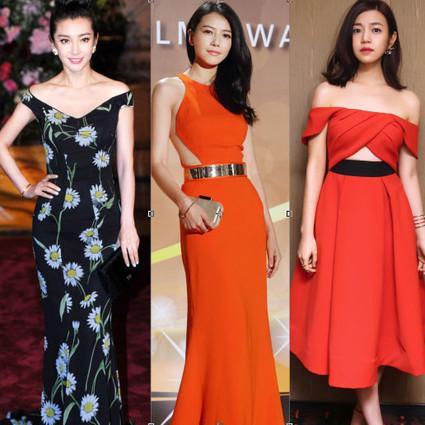 本周谁会穿 | 李冰冰印花长裙变女王,高圆圆性感红裙美翻天!