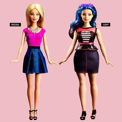 女神Barbie不再只有金发碧眼,无惧高矮胖瘦的她更美了!