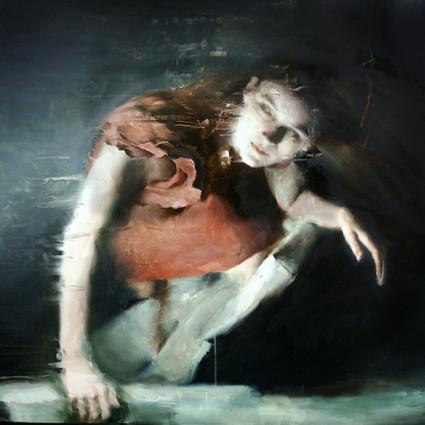 被涂抹的超写实,Britt Snyder 的绘画欣赏