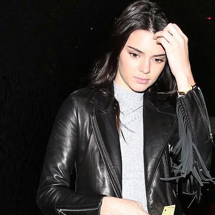 Kendall 不到1千块的皮衣也能穿出2万块的霸气!