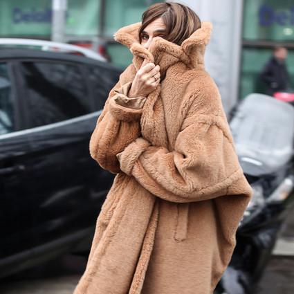 终于等到你!泰迪熊大衣适合任何身高体型,时髦保暖还能萌萌哒!
