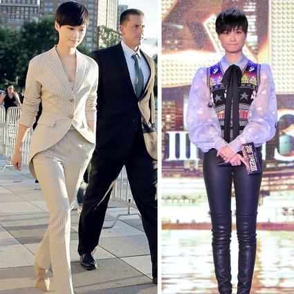 3位男神都拼不过李宇春,最会穿裤装的女人就是一个大写的帅!
