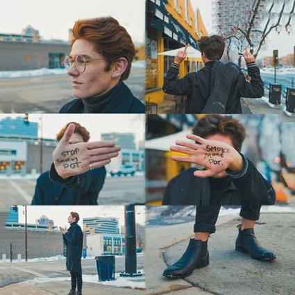 18岁摄影师用镜头传递写在手心里的愿望