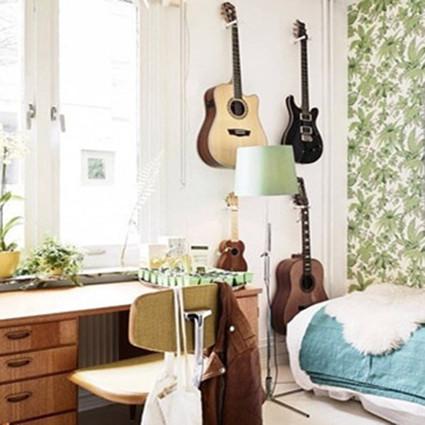 夏天的南洋风味。瑞典度假乡村风公寓欣赏