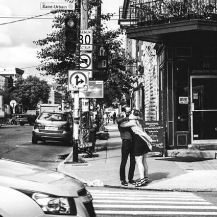 黑白照片,诠释法国街头随处可见的浪漫